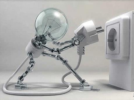Apagados gastan energia