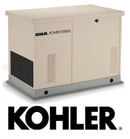 Generadores eléctricos marca Kohler