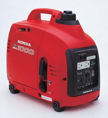 Generador recreativo marca Honda